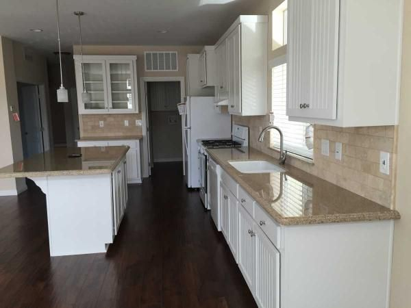 Kitchen 2016 Silvercrest Mobile Manufactured Home In Chino Hills CA Via MHVillage