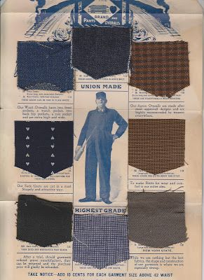 vintage workwear: Made in USA