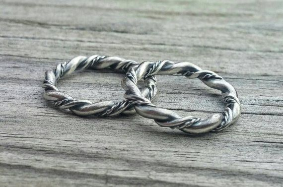 Trinity Weave Ring. by LolaJewelleryDesign on Etsy