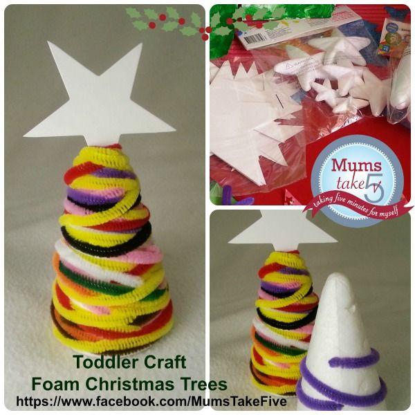 Christmas Tree Toddler Craft #Christmas #Christmascraft   Simple mess free  kids Christmas craft