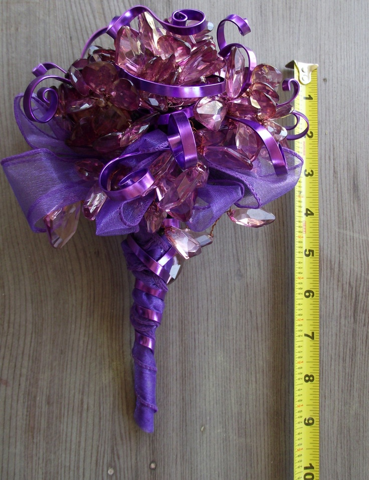 purple themed bridal shower%0A plum  eggplant  purple bouquet  purple wedding bouquet  brooch alternative   prom bouquet