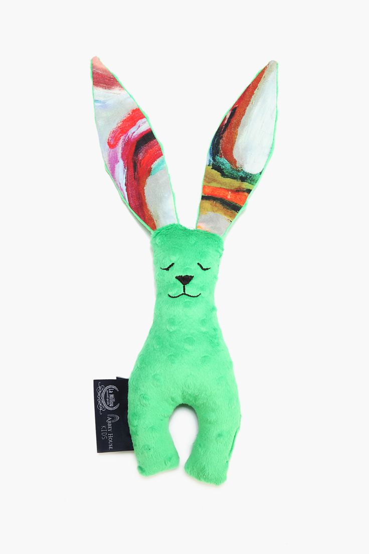 bunny kelly green with abbey house collection