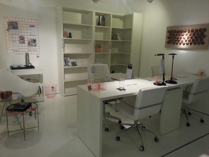 Ambiente executivo com #Design contemporâneo,funcional e confortável. Tokstok