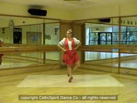 Highland dancing sailor's hornpipe steps