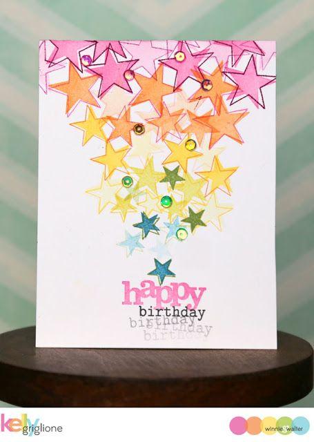 Notable Nest: 2 Cards with Winnie & Walter's Free Stamp Set | happy birthday