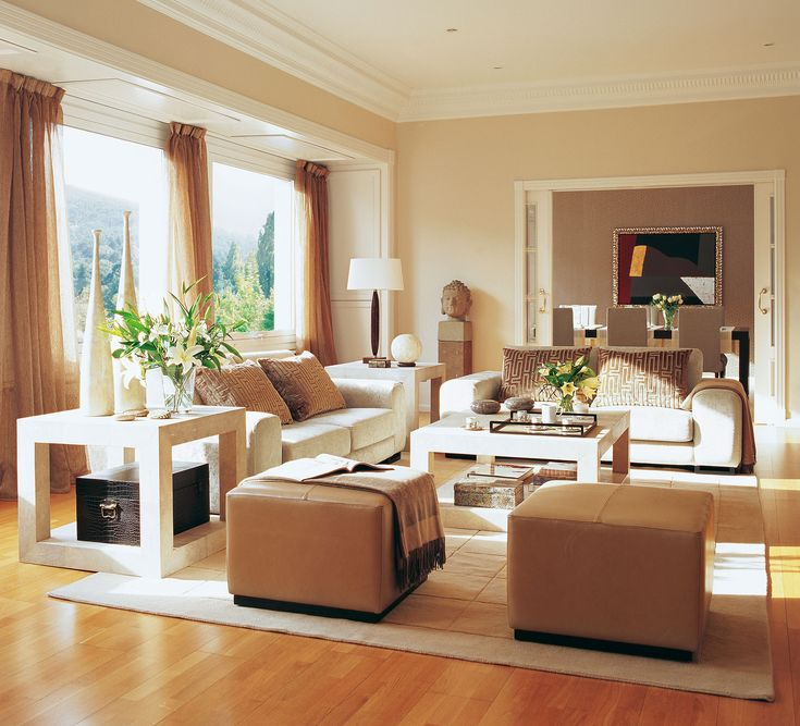 Las 25 mejores ideas sobre sala de color beige en for Decoracion salon beige