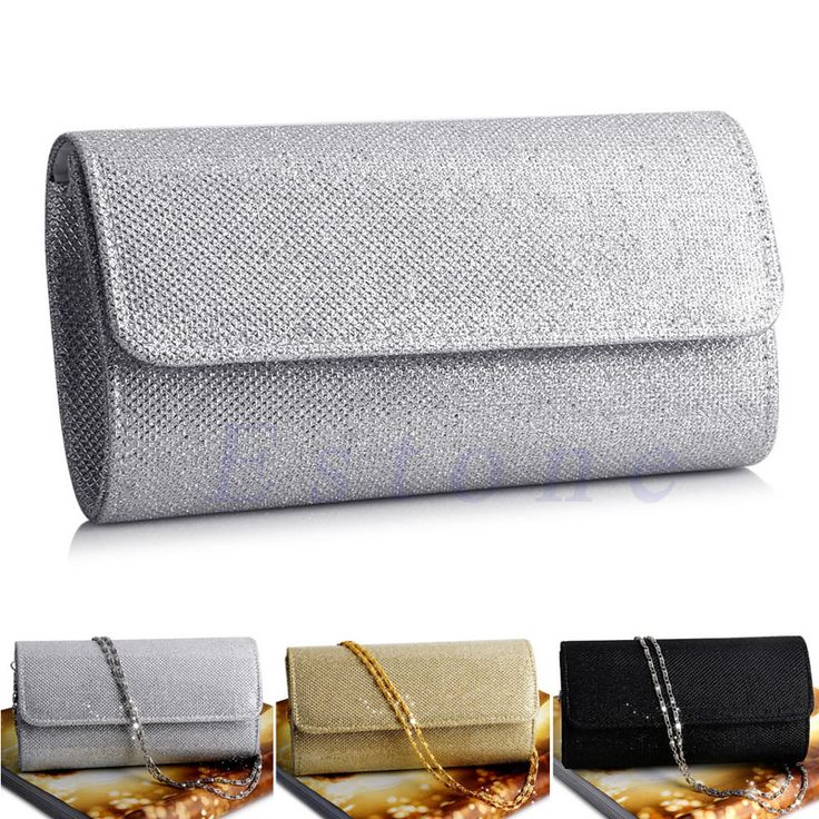 Ladies Special Glitter Evening Shoulder Clutch Purse //Price: $11.95 & FREE Shipping //     #me