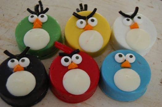 17 best images about sugerencias fiesta angry birds on for Angry birds cake decoration kit