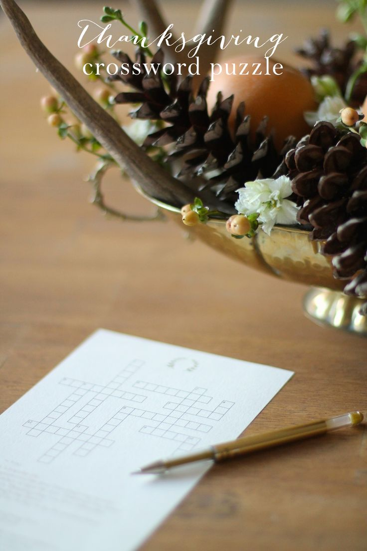 Best 25 thanksgiving crossword puzzle ideas on pinterest puzzle free printable thanksgiving crossword puzzle other fun activities julie blanner robcynllc Choice Image