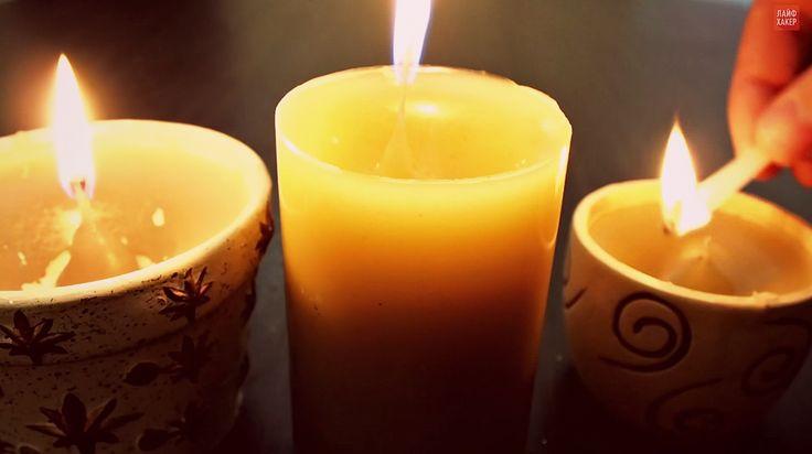ВИДЕО: Как сделать ароматические свечи из огарков - http://lifehacker.ru/2014/10/28/video-svechi-iz-ogarkov/