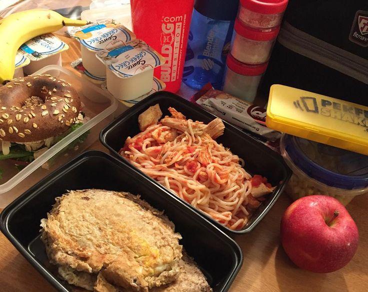 Meal prep for the day 😋👌🏻🍽 @bulldognutrition @bulldognutrition #p28 #nupasta #fitmark #macros #offseason #mealprep #mealplan #diet #bodybuilder #fitness #fit #fitfam #fitspo #igfit #motivation #fitnessaddict #hardwork #healthyfood #cleaneating #fruit #oatmeal #chicken #greekyogurt #veggies #eggs #yummy #nomnom #beyourbest