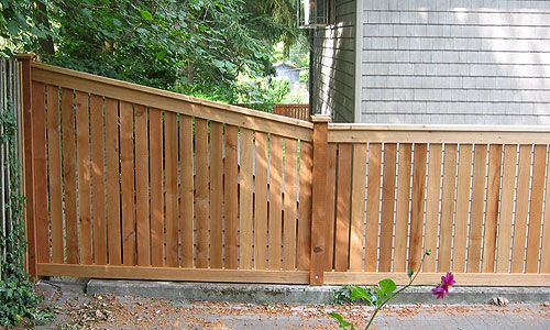 Side Porch To Back Yard Transition Idea Decks And Fences