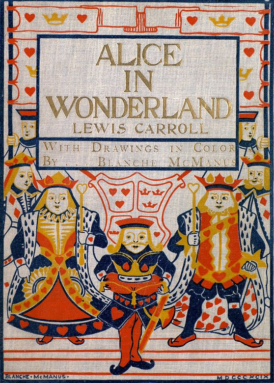 """Blanche McManus. """"Alice's Adventures in Wonderland""""   woud translate well to a cross  stitch"""