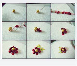 Manik bunga tutorial