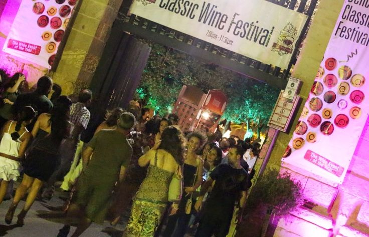"""The way in to """"The Greatest Wine Event of the Year""""."""