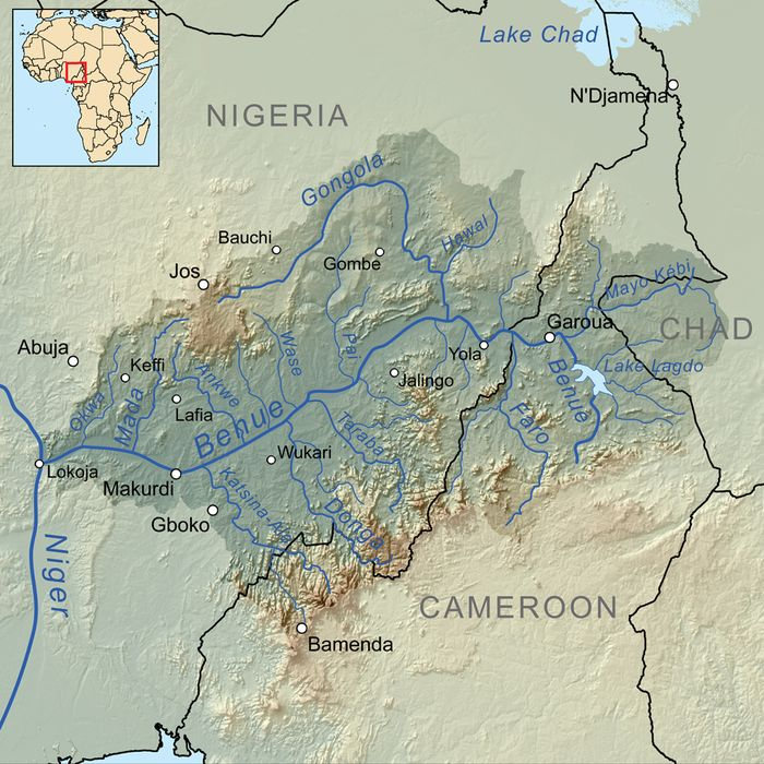 Benué River - Wikipedia, the free encyclopedia