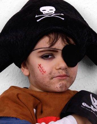 piratenmädchen schminken