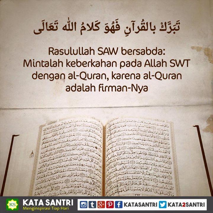 Assalamualaikum   Baca al-Quran biar barokah - http://ift.tt/1SfEswZ