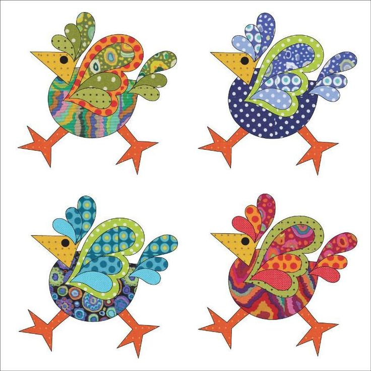 Looking for your next project? You're going to love Applique Add On's - Funky Chicken by designer urbanelementz. - via @Craftsy