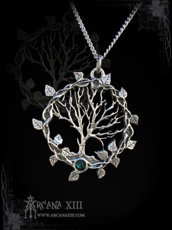 Handmade Tree of life pendant Tree of Gaia yggdrasil by ArcanaXIII