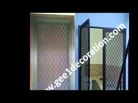 pintu dan jendela kawat nyamuk, kasa aluminium frame magnet, teralis expanda, type insect screen, aplikasi system pemasangan insect screen, security door & window, Tlp.: 02193509906-085811430611-081281140189