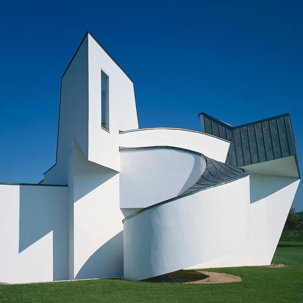 Vitra Design Museum at the Vitra Campus by Frank Owen Gehry, 1989, Weil am Rhein, #Basilea