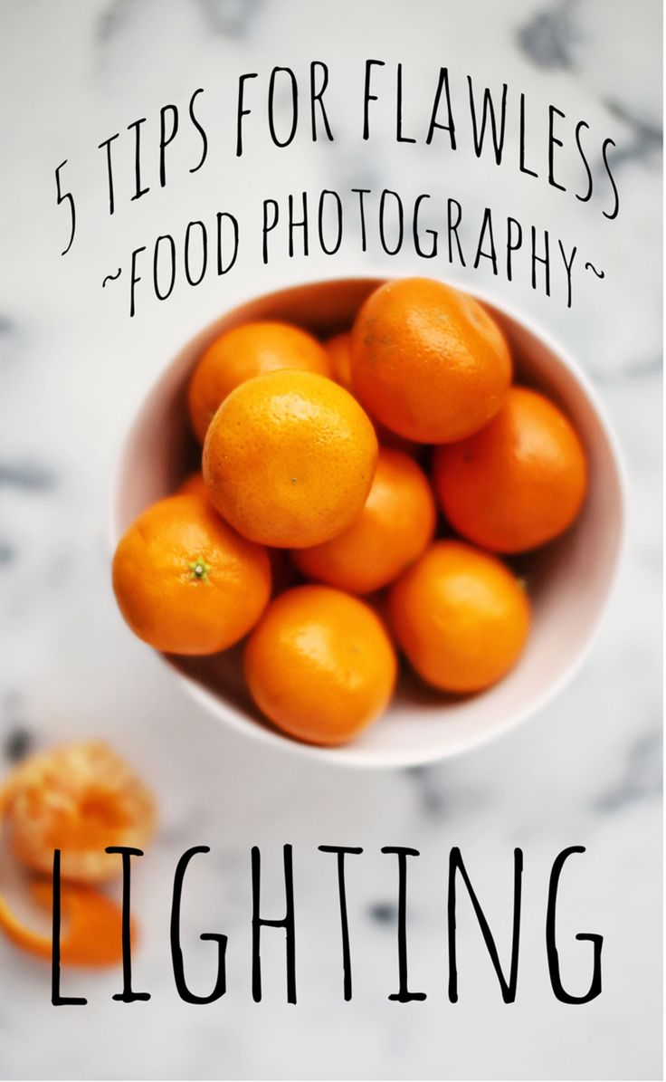 Read 5 tips for flawless food photography lighting