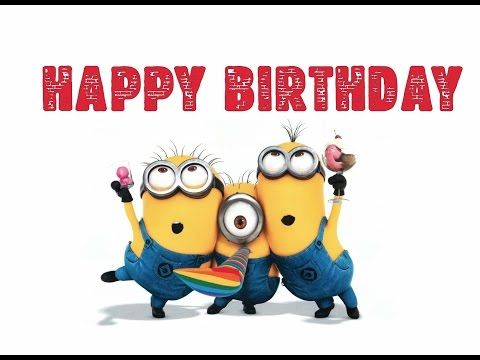 Minions Sing Happy Birthday Song - Dance Compilation, Remix - YouTube