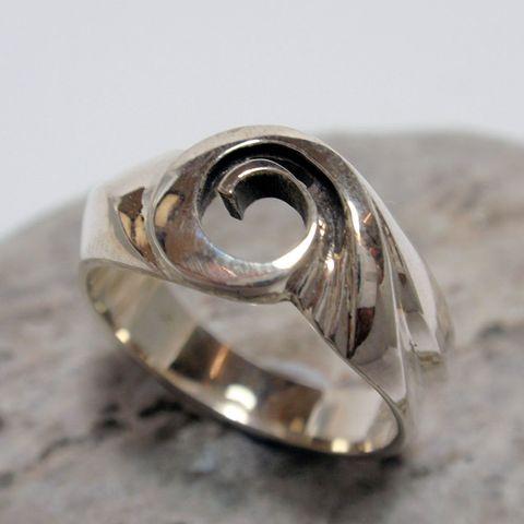 Michael Volk Silver Swirl Ring – Unio Goldsmith