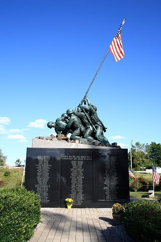 The Iwo Jima Memorial is about a 20-minute walk from Arlington National Cemetery. The monument is a moving rendition of  the iconic image of the second flag-raising on the island of Iwo Jima during World War II. On this day in 1945, during the battle for Iwo Jima, U.S. Marines raised the American flag atop Mt. Suribachi.