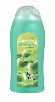 Gentelle Hair Fruits Shampoo 400ml Apple Crunch The new Gentelle range provides a distinctive fruity fragrance, perfect for individual taste.