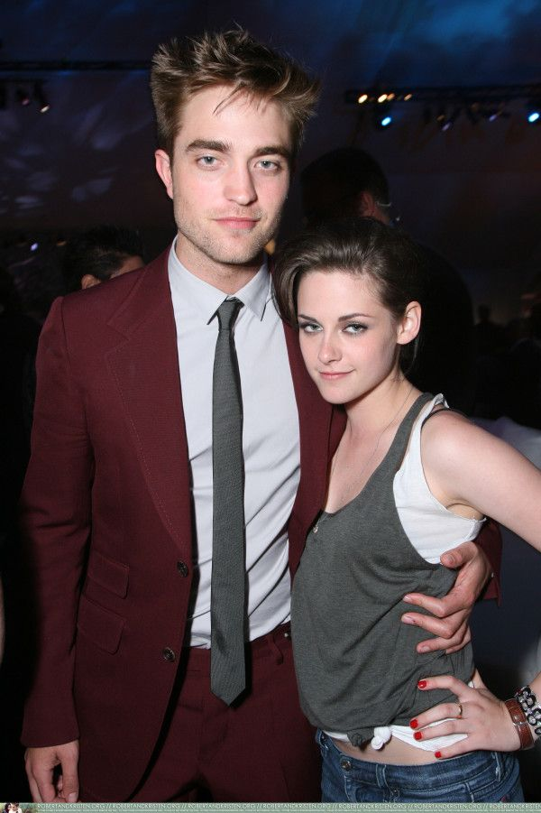 Robert Pattinson ❤ Kristen Stewart ❤ Kristen Stewart Rob Pattinson at the  Eclipse premiere afterparty - June 2010