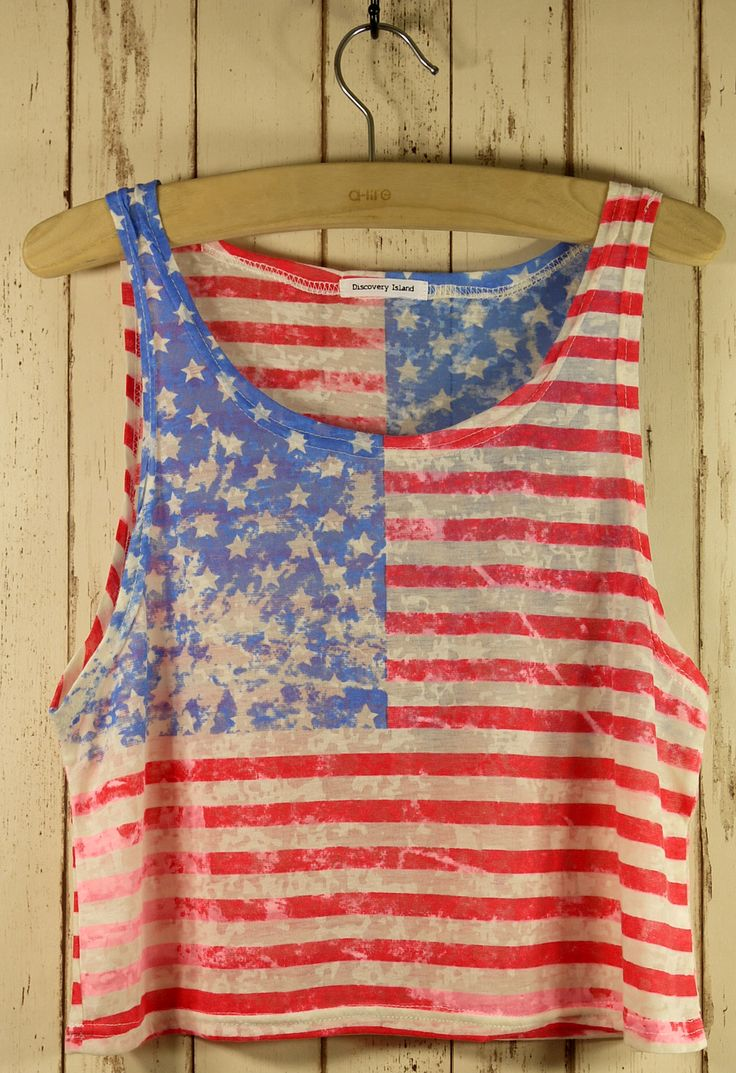 cute top for the 4th of July!