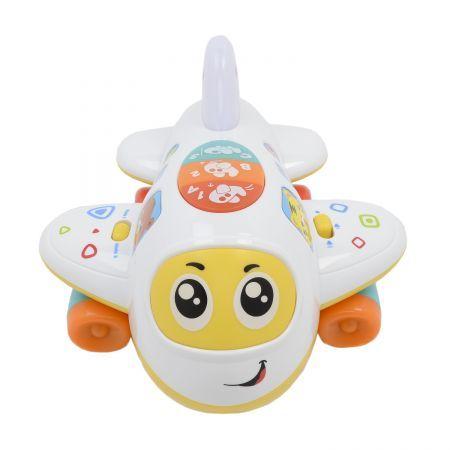 Jucarie interactiva M-Toys, Avionul buclucas cu lumini si sunete