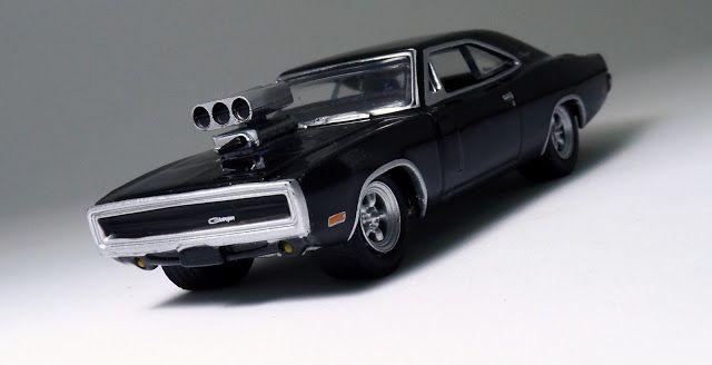 Miniaturas de Carros em Foco: Especial Filmes: Dodge Charger R/T 1970 (Velozes e Furiosos)