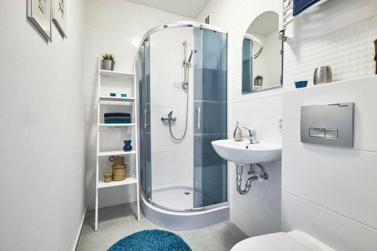 Drabina - regał w łazience  #ladder #laddershelf #drabinka #drabina #regał #łazienka #bathroom #bathroomideas