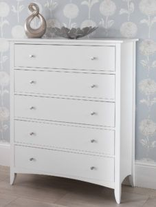70cm Wide Chest Of Drawers White