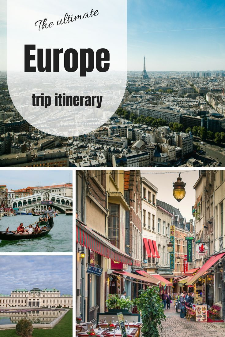 10 day europe itinerary for first time backpackers europe family rh pinterest com