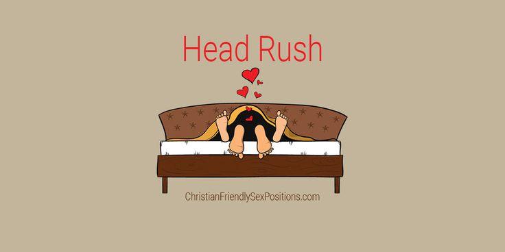Christian-friendly cunnilingus position Head Rush #Kinky #MarriageBed