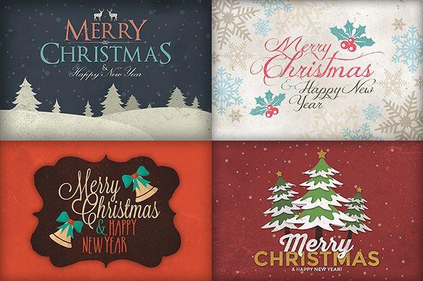 Mega Bundle: Christmas Art & Fonts on Behance