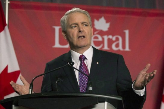 Marc Garneau falls to earth and drops out of Liberal leadership race