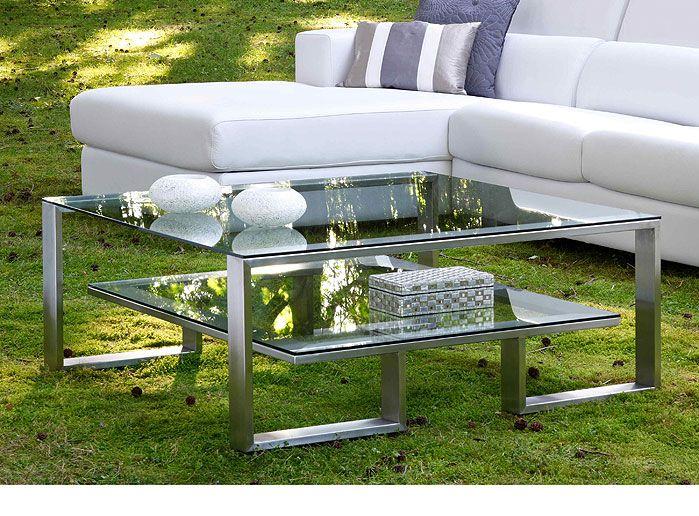 Mesa de centro moderna cristal design http www for Mesas de centro modernas