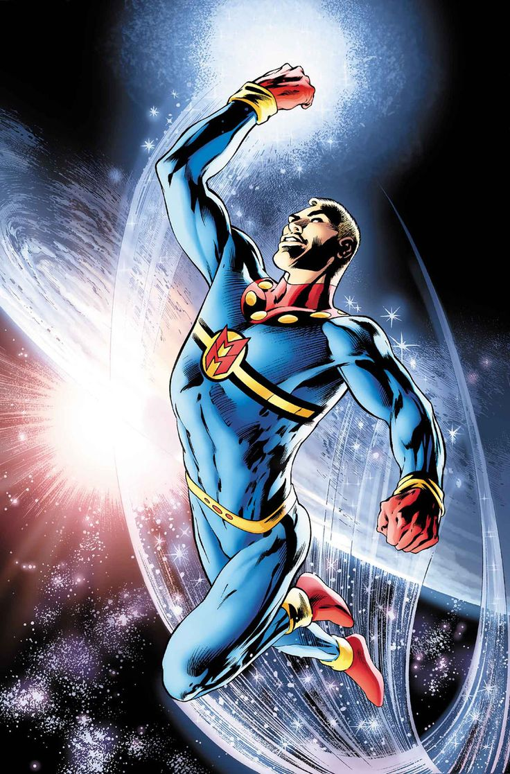 This is a cover for Miracleman #7, drawn by Alan Davis. I say 'a cover' because, allegedly, he's also drawing a variant cover as well, but I can't find it yet.