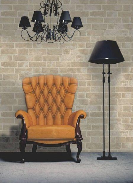 The 25 best brick effect wallpaper ideas on pinterest for Brick wallpaper office