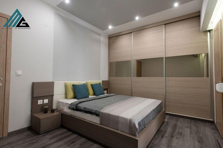 ανακαίνιση διαμερίσματος- κρεβατοκάμαρα-bedroom design