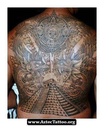 aztec tattoos pyramid 01 tattoos. Black Bedroom Furniture Sets. Home Design Ideas