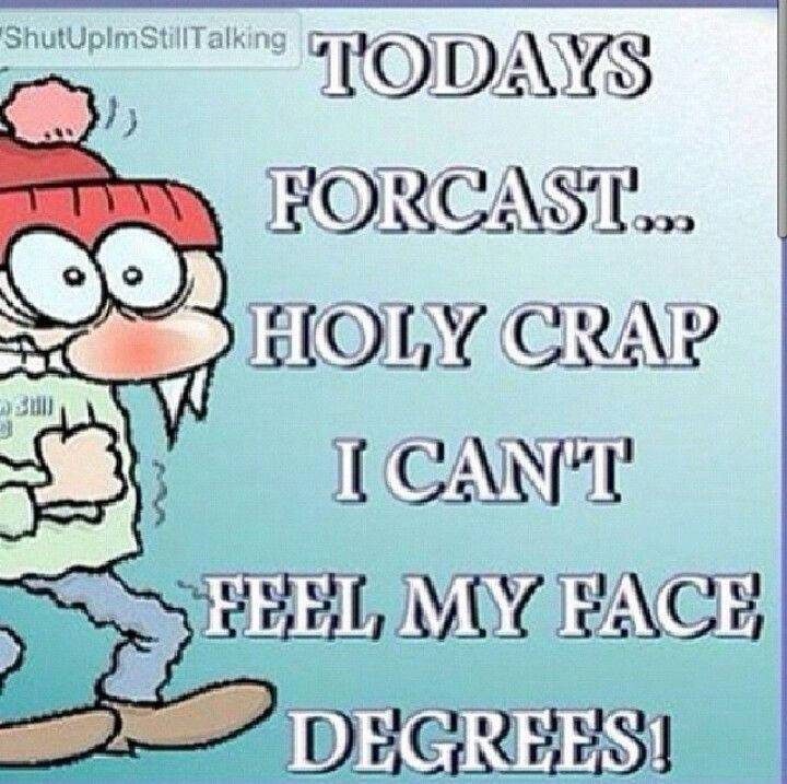 It has been this cold where i am… man i hate winter for this reason… brrr!