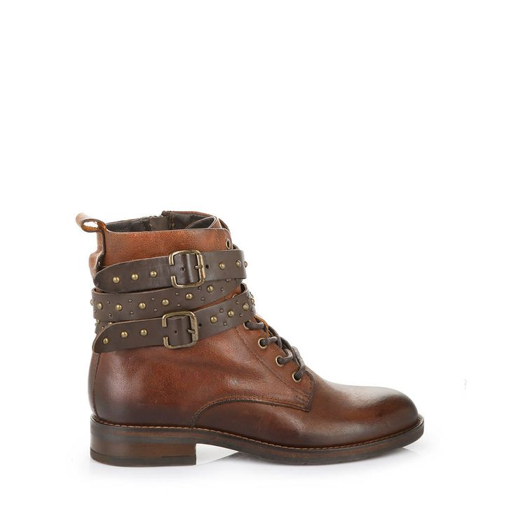 BUFFALO Buffalo boots in cognac