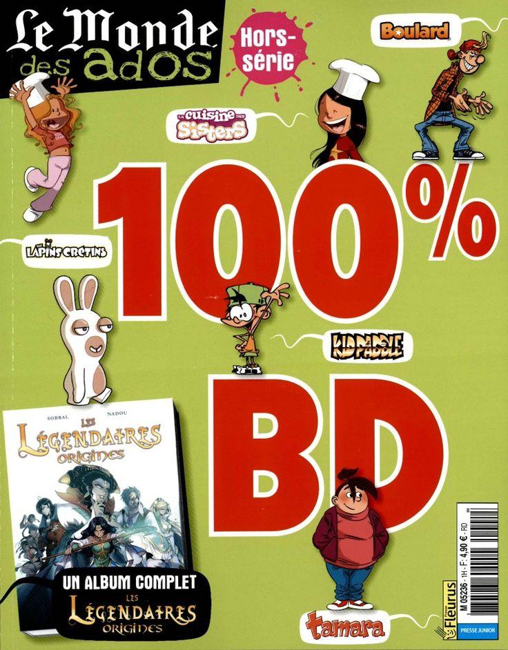 Boulard, les lapins crétins, Kidpaddle, les Légendaires origines, Tamara. Un numéro où vous retrouvez tous  vos héros préférés de Bande dessinée.