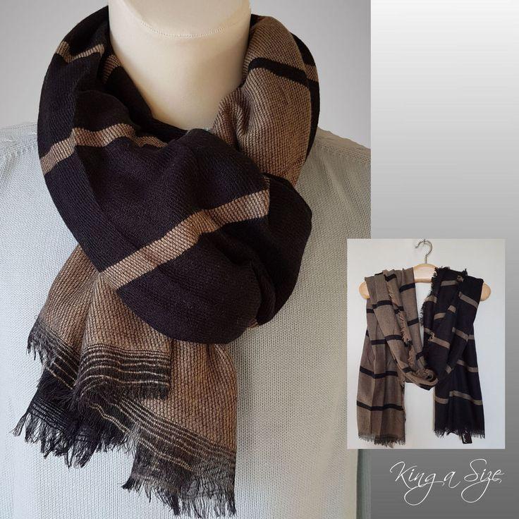 Herren Schal  Winterschal / Loopschal / men's scarf / Halstuch / Wollschal B1